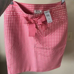 Loft skirt with bow